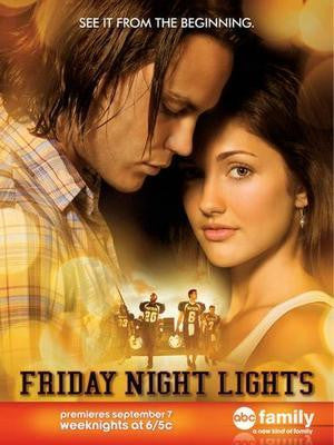Friday Night Lights Poster 24in x36in 24x36 - Fame Collectibles