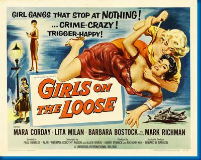 Girls On The Loose Movie Poster 24x36 - Fame Collectibles