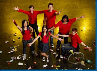 Glee Arms Up Poster 24x36 - Fame Collectibles