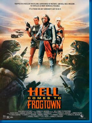 Hell Comes To Frogtown Roddy Piper Movie Poster 24x36 - Fame Collectibles