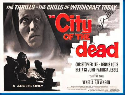 City Of The Dead Movie Poster 24x36 - Fame Collectibles