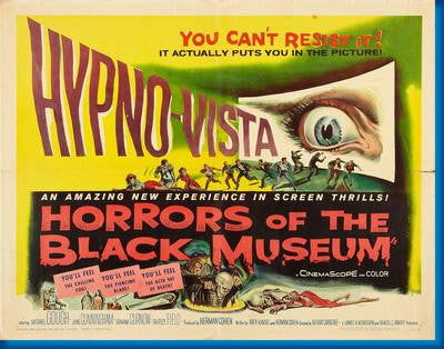 Horrors Of The Black Museum Movie Poster 24x36 - Fame Collectibles