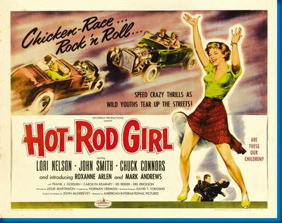 Hot Rod Girl Movie Poster 24x36 - Fame Collectibles