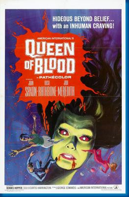 Queen Of Blood Movie Poster 24x36 - Fame Collectibles