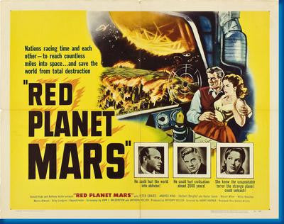 Red Planet Mars Movie Poster 24x36 - Fame Collectibles