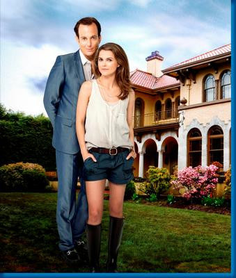 Running Wilde Will Arnett Keri Russell Poster 24x36 - Fame Collectibles