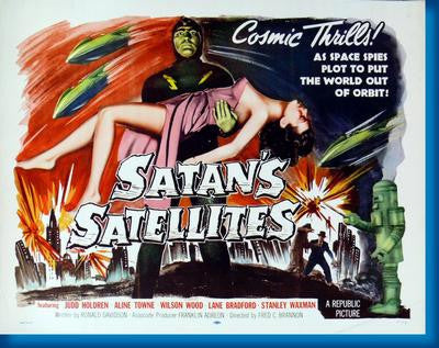 Satans Satellites Movie Poster 24x36 - Fame Collectibles