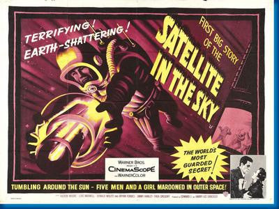 Satellite In The Sky Movie Poster 24x36 - Fame Collectibles