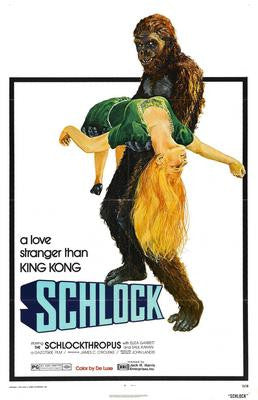 Schlock Movie Poster 24x36 - Fame Collectibles