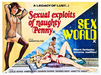 Sexual Exploits Of Naughty Penny Movie Poster 24x36 - Fame Collectibles