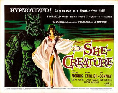 She Creature The Movie Poster 24x36 - Fame Collectibles