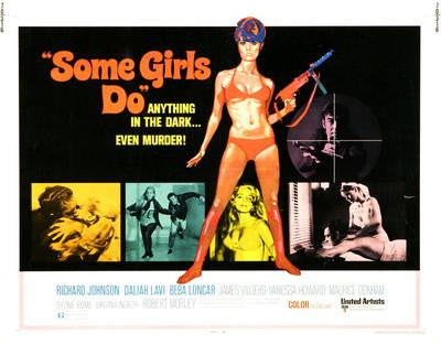Some Girls Do Movie Poster 24x36 - Fame Collectibles