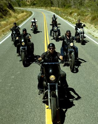 Sons Of Anarchy Riding Poster 24x36 - Fame Collectibles
