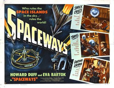 Spaceways Movie Poster 24x36 - Fame Collectibles