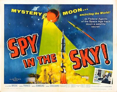 Spy In The Sky Movie Poster 24x36 - Fame Collectibles