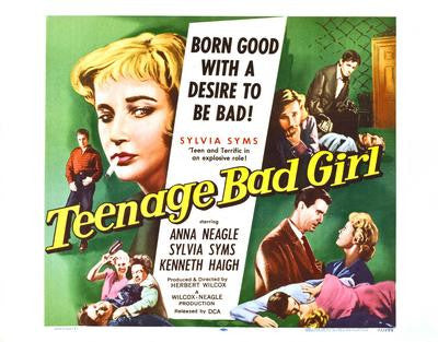 Teenage Bad Girl Movie Poster 24x36 - Fame Collectibles