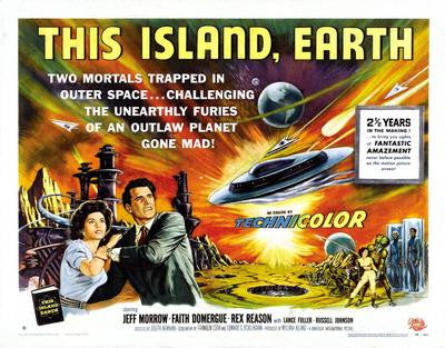 This Island Earth Hz Movie Poster 24x36 - Fame Collectibles