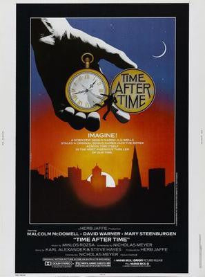 Time After Time Movie Poster 24in x36in 24x36 - Fame Collectibles