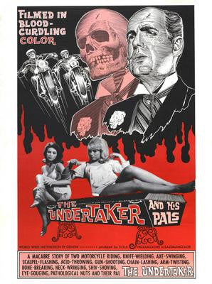 Undertaker And His Pals The Movie Poster 24x36 - Fame Collectibles