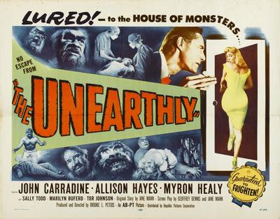 Unearthly The Movie Poster 24x36 - Fame Collectibles