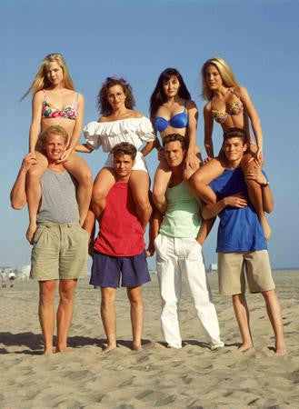 Beverly Hills 90210 Promo Old Cast 8x10 photo - Fame Collectibles