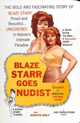 Blaze Starr Goes Nudist Mouse Pad Mousepad Mouse mat - Fame Collectibles