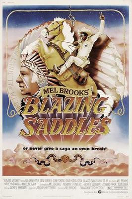 Blazing Saddles Mouse Pad Mousepad Mouse mat - Fame Collectibles