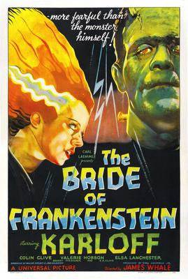 Bride Of Frankenstein Mouse Pad Mousepad Mouse mat - Fame Collectibles