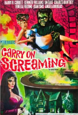 Carry On Screaming Mouse Pad Mousepad Mouse mat - Fame Collectibles