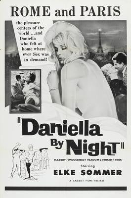Daniella By Night Elke Sommer Movie Poster 24x36 - Fame Collectibles