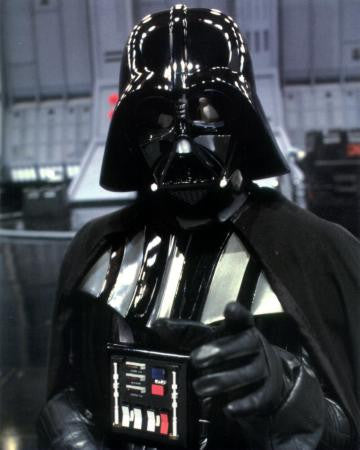Darth Vader Portrait 8x10 photo - Fame Collectibles