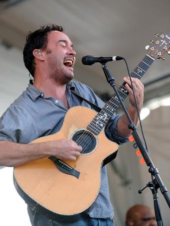 Dave Matthews Singing Guitar 8x10 photo - Fame Collectibles