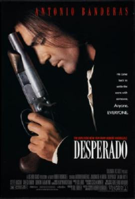Desperado Movie Poster 24in x 36in - Fame Collectibles