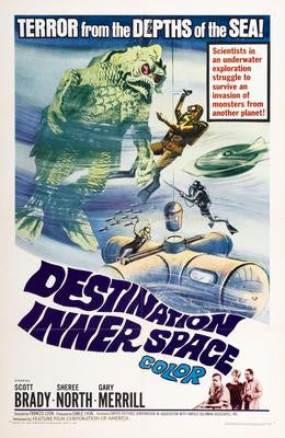 Destination Inner Space Movie Poster 24x36 - Fame Collectibles