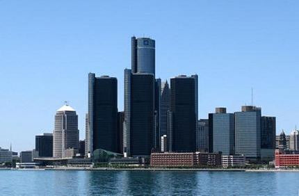 Detroit Skyline Poster 24x36 - Fame Collectibles