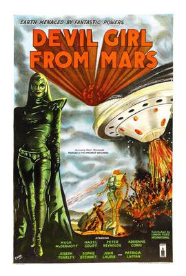Devil Girl From Mars Movie Poster 24x36 - Fame Collectibles