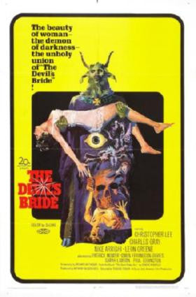 Devils Bride The Movie Poster 24in x 36in - Fame Collectibles