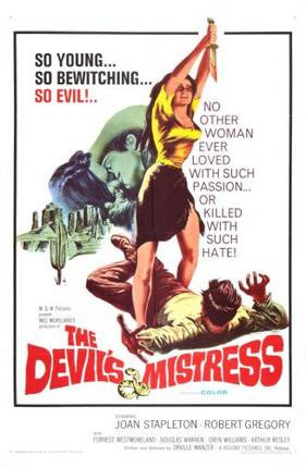 Devils Mistress The Movie Poster 24x36 - Fame Collectibles