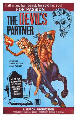 Devils Partner The Movie Poster 24x36 - Fame Collectibles