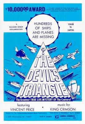 Devils Triangle The Movie Poster 24x36 - Fame Collectibles