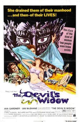Devils Widow Movie Poster 24x36 - Fame Collectibles