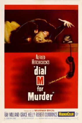 Dial M For Murder Movie Poster 24in x 36in - Fame Collectibles