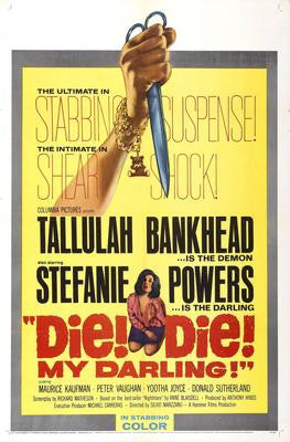 Die Die My Darling Movie Poster 24x36 - Fame Collectibles