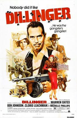 Dillinger Movie Poster 24x36 - Fame Collectibles