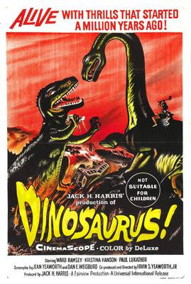 Dinosaurus Movie Poster 24x36 - Fame Collectibles