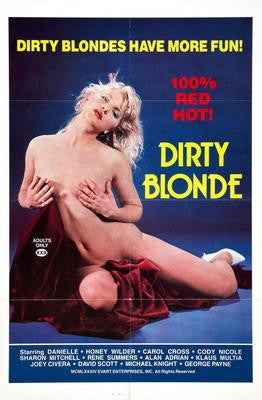Dirty Blonde Movie Poster 24x36 - Fame Collectibles