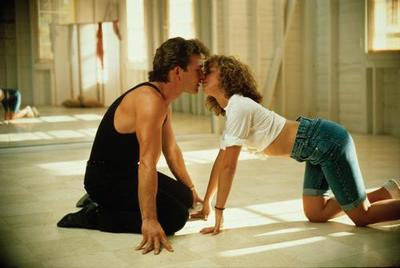 Dirty Dancing Patrick Swayze Kiss Movie Poster 24x36 - Fame Collectibles