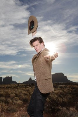 Doctor Who Poster 24x36 Matt Smith Cowboy Hat 24x36 - Fame Collectibles