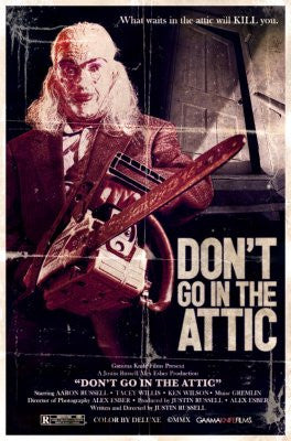 Dont Go In Attic Movie Poster 24x36 - Fame Collectibles