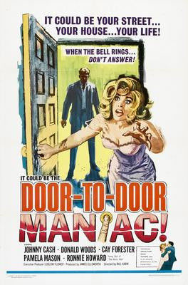 Door To Door Maniac Movie Poster 24x36 - Fame Collectibles